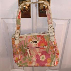 Pink Floral Spartina Handbag